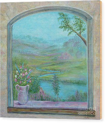 Walton's Valley Wood Print
