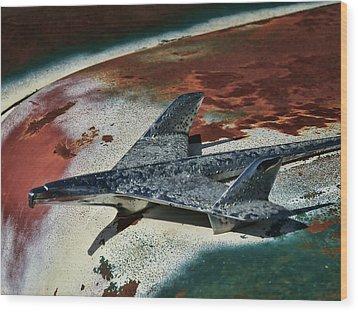 War Bird Wood Print by Douglas Pittman