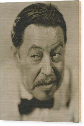 Warner Oland, 1879-1938 Wood Print by Everett