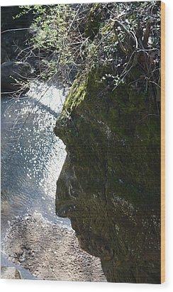 Warrior Rock Wood Print