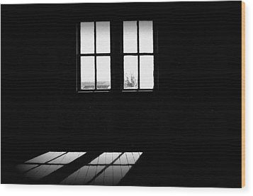 Was A Simple Life Wood Print by Shirley Sirois