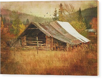 Was Once A Dream Wood Print by Mary Timman