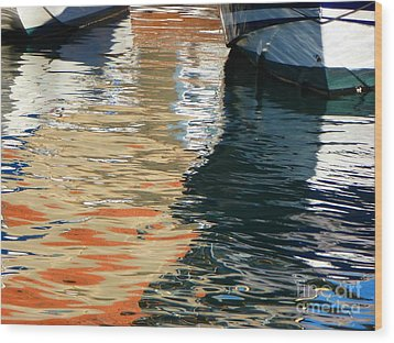 Water Ballet Wood Print by Randy Sprout