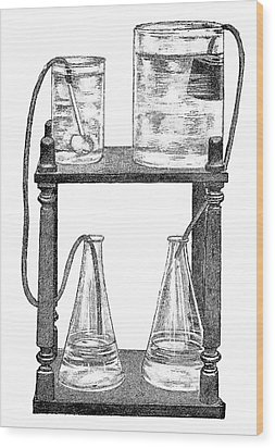 Water Filters, 19th Century Wood Print by