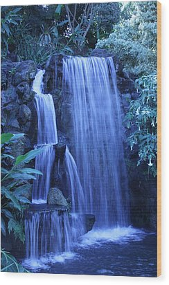 Waterfall Number 1 Wood Print