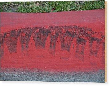 Watermelon Curb Wood Print