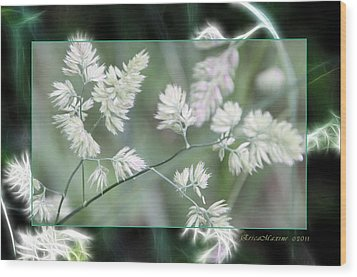 Weeds Wood Print by EricaMaxine  Price