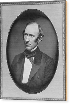 Wendell Phillips 1811-1884 American Wood Print by Everett
