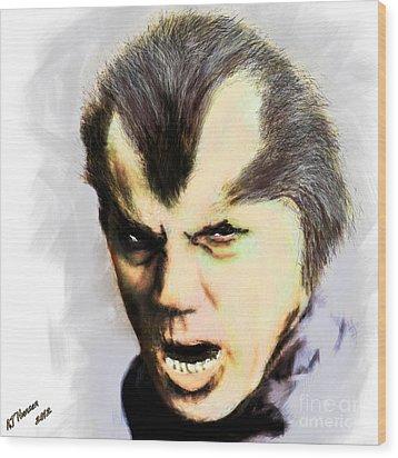 Werewolf Of London Wood Print by Arne Hansen