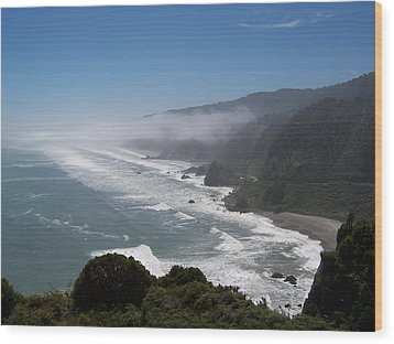 Wood Print featuring the photograph West Coast - South Island 2 by Peter Mooyman