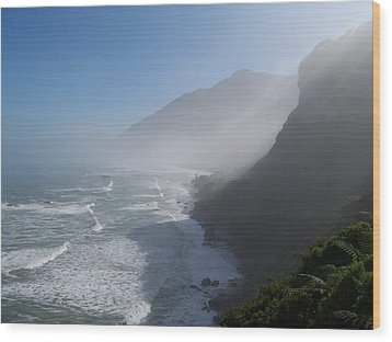 Wood Print featuring the photograph West Coast- South Island by Peter Mooyman