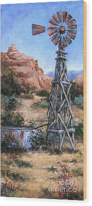 West Texas And Beyond Wood Print