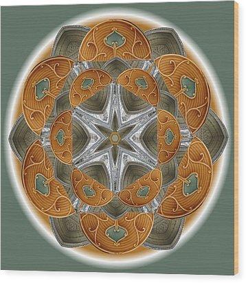 Westminster Star Wood Print by Linda Pope