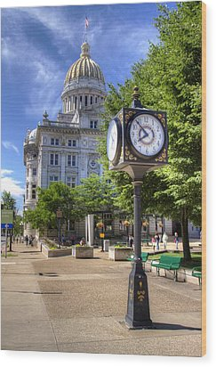 Westmoreland County Courthouse Wood Print by Coby Cooper