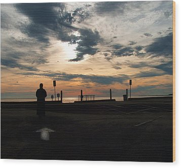 Wood Print featuring the photograph Westward View by Michael Friedman