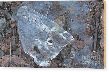 Whale Wood Print by Randi Shenkman