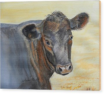 What Color Cocoa Wood Print by Susan  Clark