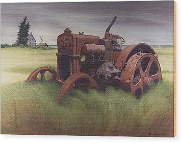 What Rust Hath Wrought  Wood Print by Glen Heberling