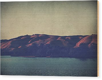 What The Shadows Hide Wood Print by Laurie Search