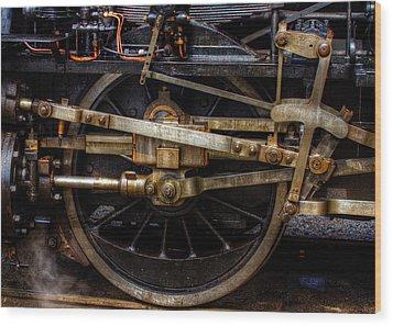 Wheel Wood Print by Gert Lavsen