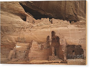 White House Ruin Canyon De Chelly Wood Print by Bob Christopher