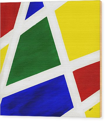 White Stripes 6 Wood Print by Hakon Soreide