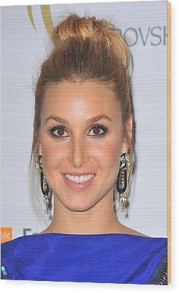 Whitney Port At Arrivals For The 2nd Wood Print by Everett