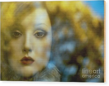 Wood Print featuring the digital art Why Do I Love You Doll? by Rosa Cobos