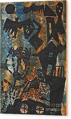 Wicked Wood Print by Stephanie Ward