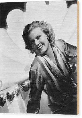 Wife Vs. Secretary, Jean Harlow, 1936 Wood Print by Everett