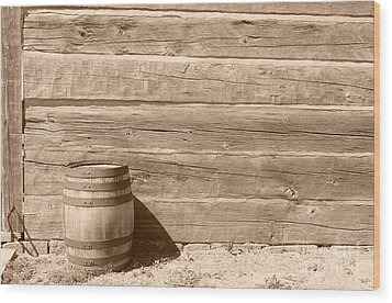 Wood Print featuring the photograph Wild West by Joe  Ng