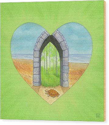 Will Wood Print by Lisa Kretchman