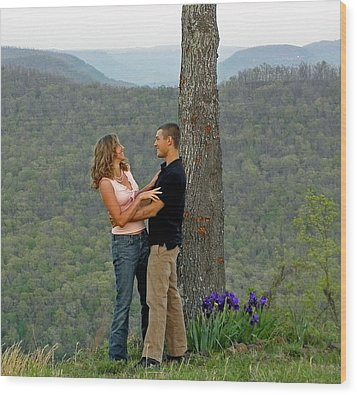 Will You Marry Me Wood Print