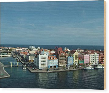 Willemstad Curacao Wood Print