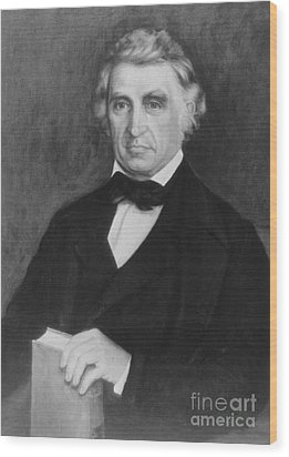 William Beaumont, American Surgeon Wood Print by Science Source