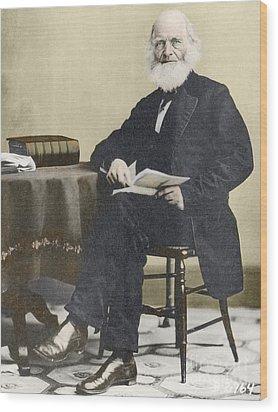 William Cullen Bryant, American Poet Wood Print by Science Source