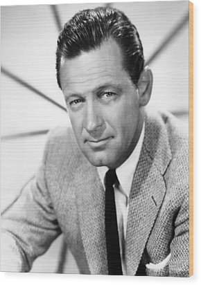 William Holden, 1960 Wood Print by Everett