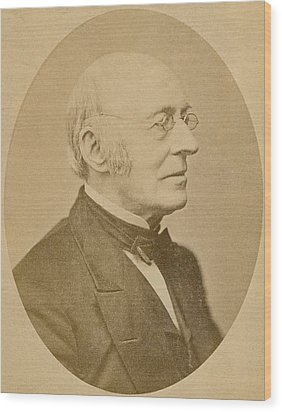 William Lloyd Garrison 1805-1879 Wood Print by Everett