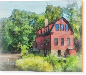 Williams-droescher  Mill Wood Print by Susan Savad