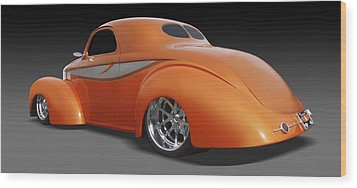 Willys Wood Print by Mike McGlothlen