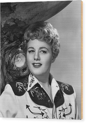 Winchester 73, Shelley Winters, 1950 Wood Print by Everett