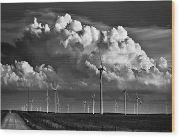 Wood Print featuring the photograph Wind Storm by Brian Duram