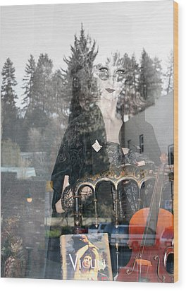 Wood Print featuring the photograph Window Art by Holly Ethan