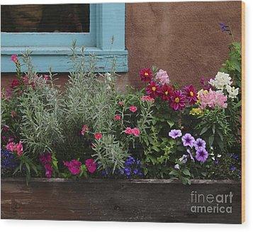 Wood Print featuring the photograph Window-box II by Sherry Davis