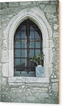 Window Of A Chapel Wood Print by Joana Kruse