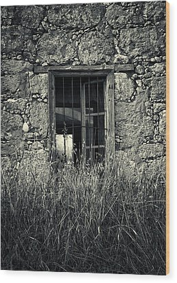 Window Of Memories Wood Print by Stelios Kleanthous