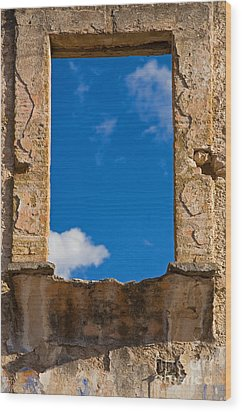 Wood Print featuring the photograph Window To The Soul - Mexico by Craig Lovell