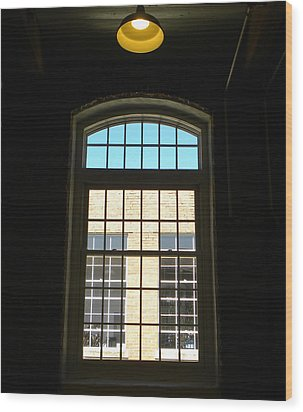 Windows  Wood Print by Sandi OReilly