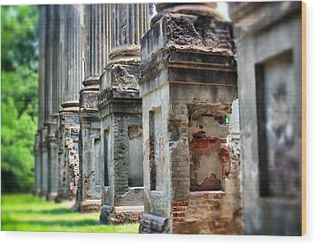 Wood Print featuring the photograph Windsor Ruins 1 by Jim Albritton