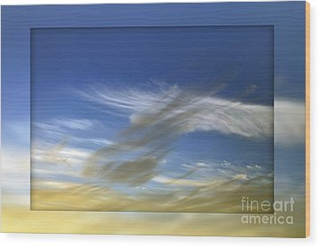 Windswept 2 Wood Print by Kaye Menner
